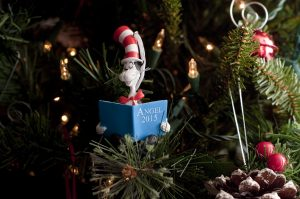 Silhouette Cameo Dr Seuss Christmas Ornament