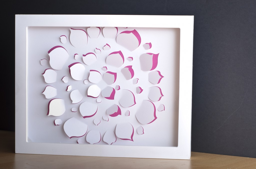 Design a Flower Cutout in Adobe Illustrator to Use With Your Silhouette Machine FinishedPiece