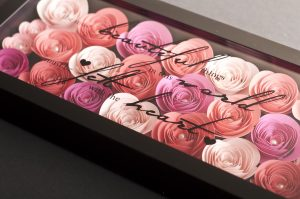 Silhouette Cameo Paper Flowers Shadowbox