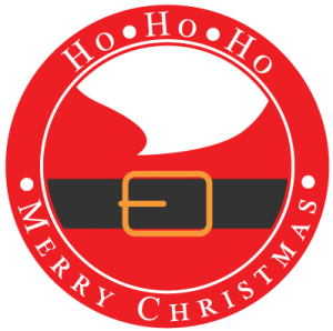 Merry Christmas Santa Logo Silhouette Cameo Freebies