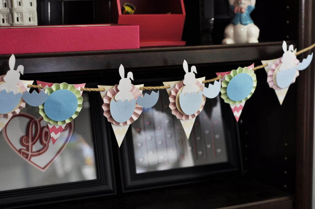 Silhouette Cameo Freebies - Easter Bunny Banner