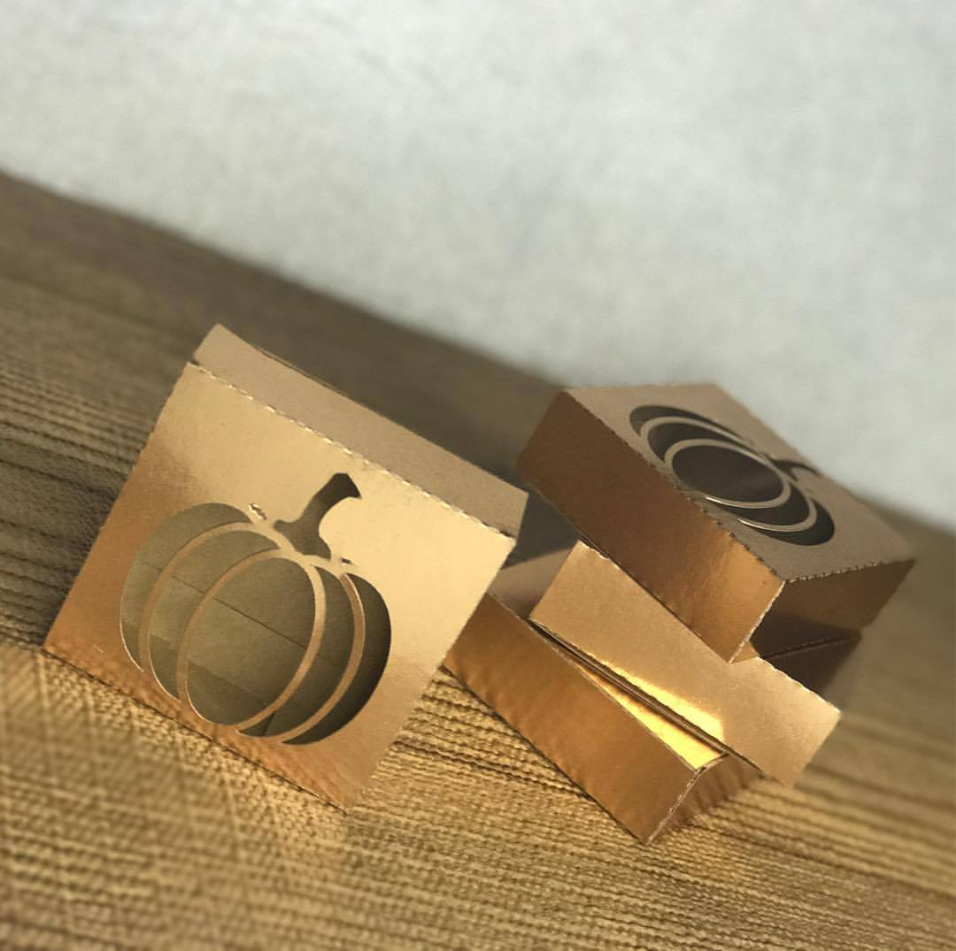 Pumpkin Cutout Box - Silhouette Cameo Freebie